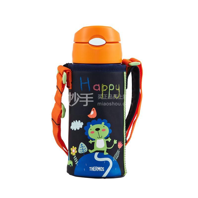 【膳魔师】膳魔师lion系列高真空儿童保温壶(蓝色)  600ml/  FFG-603L BL