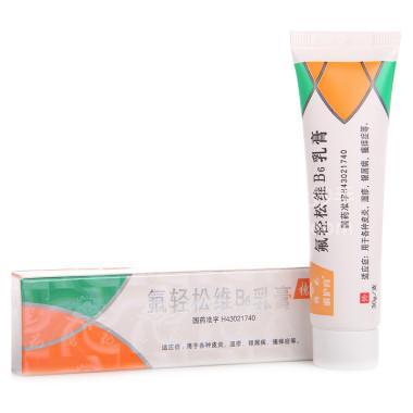 【天龙】氟轻松维B6乳膏 30g
