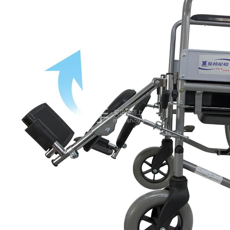 钢管手动轮椅车