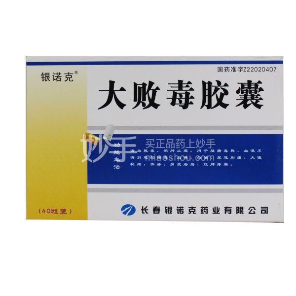 【银诺克】大败毒胶囊 0.5g*40粒