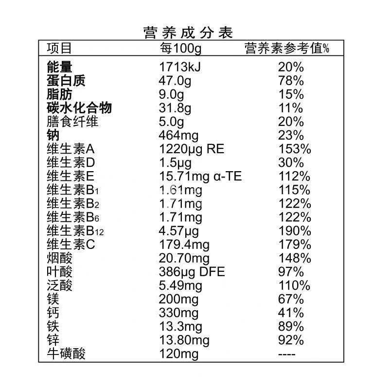 愈素 营养强化蛋白复合粉(II)型(营养素固体饮料) 25g*9袋