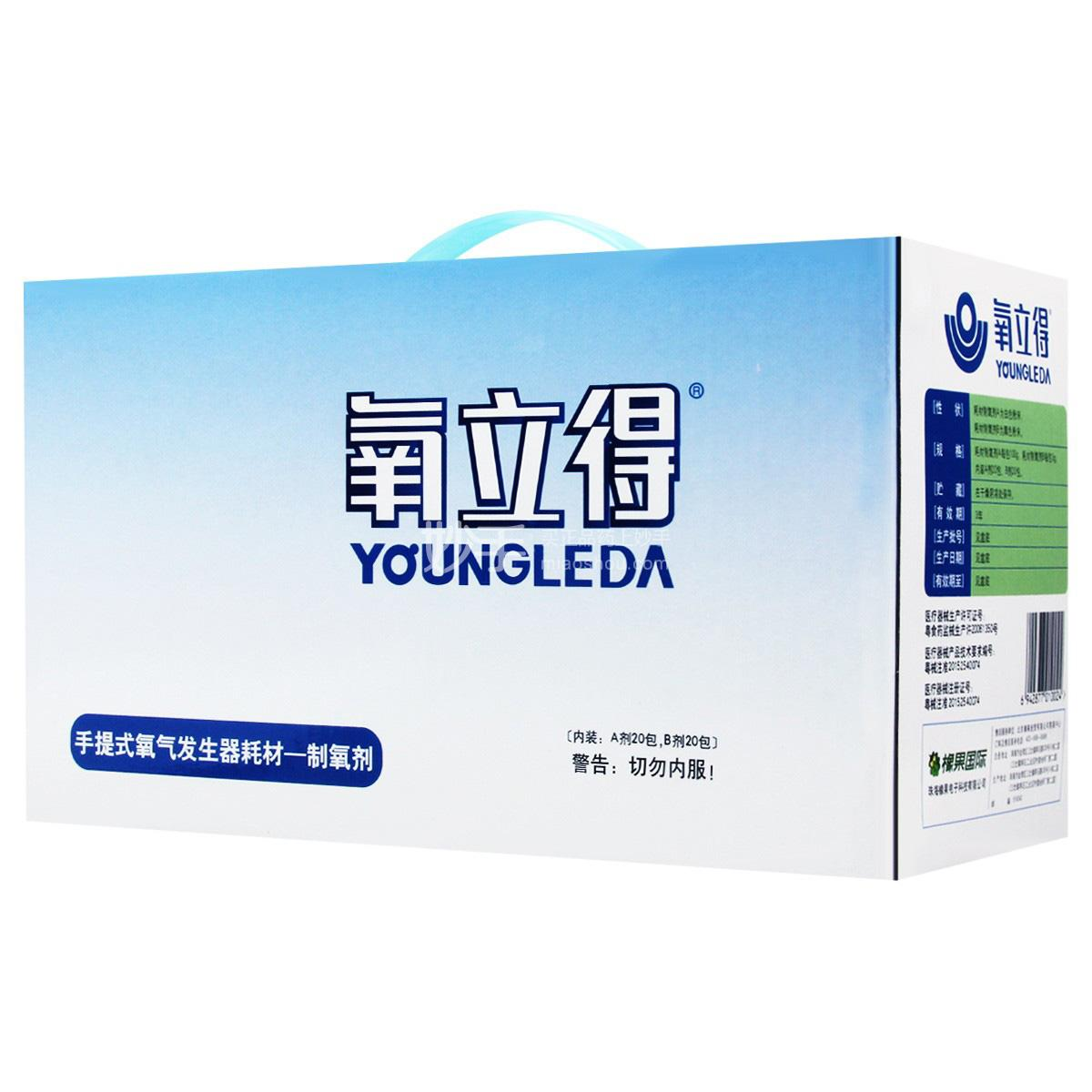氧立得 制氧剂 A100g*20包+B3g*20包