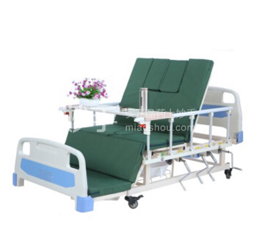 【邦恩】SJ3-1 家用护理床 手摇左右翻身病床 带坐便超低多功能护理床