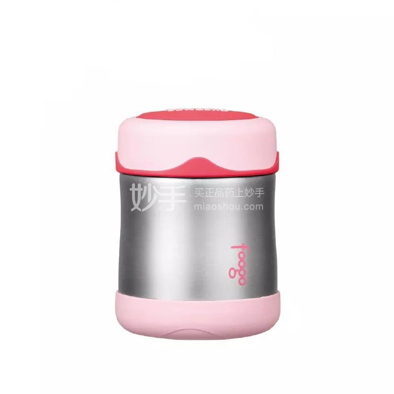 【膳魔师】膳魔师Foogo系列不锈钢食物罐(粉色)  300ml/B3003 PK