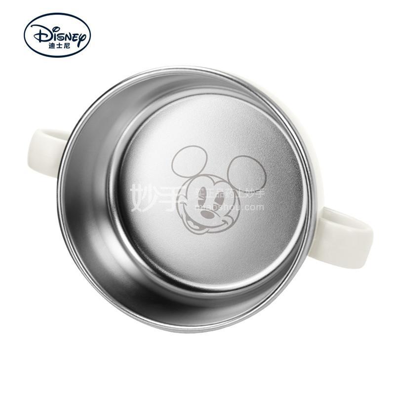 【爱婴小铺】迪士尼妙趣米奇不锈钢双手柄碗