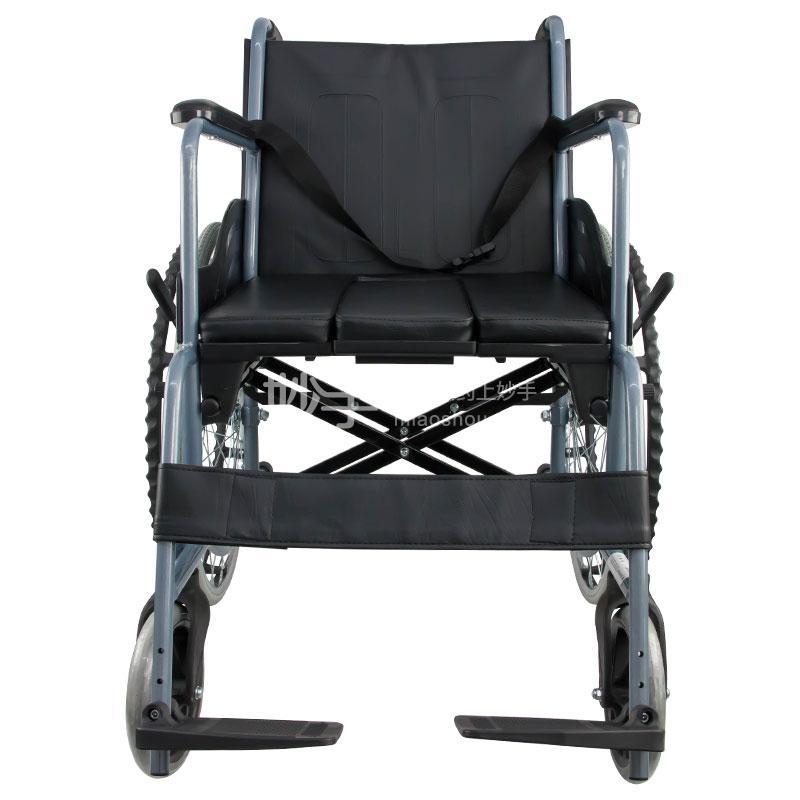 互邦 钢管手动轮椅车 HBG15-B