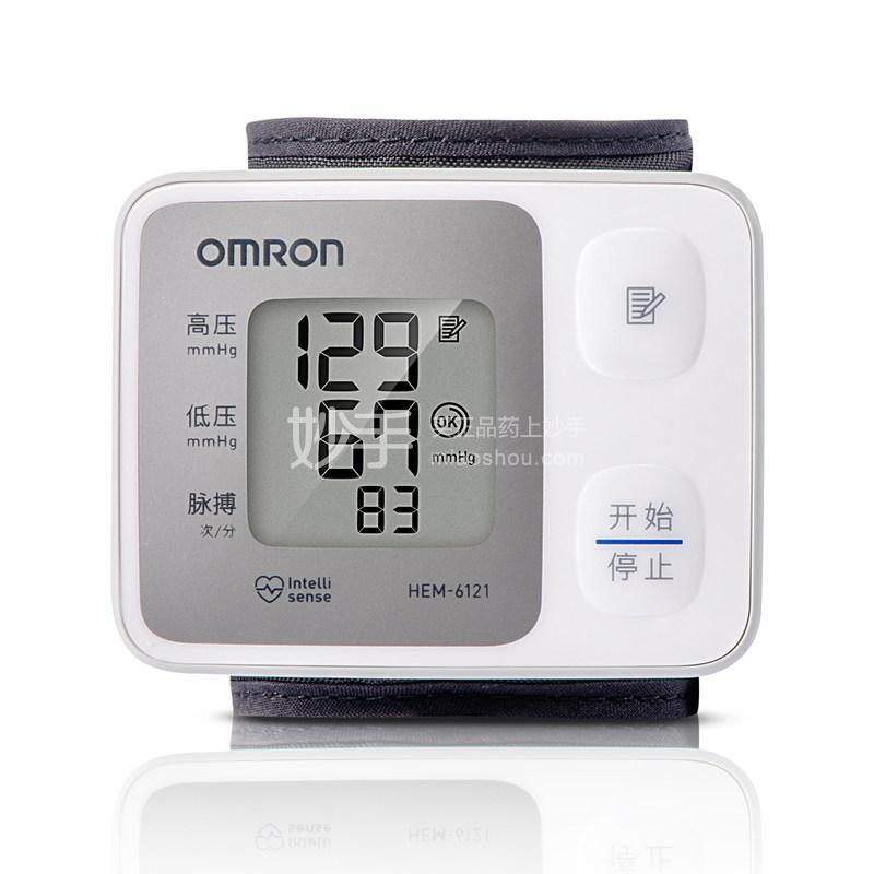 【欧姆龙】手腕式电子血压计  HEM-6121