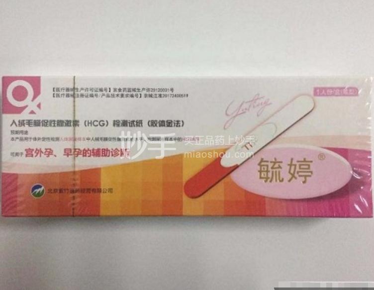 毓婷 人绒毛膜促性腺激素(HCG)检测试纸(胶 一人份(笔型)B-60H