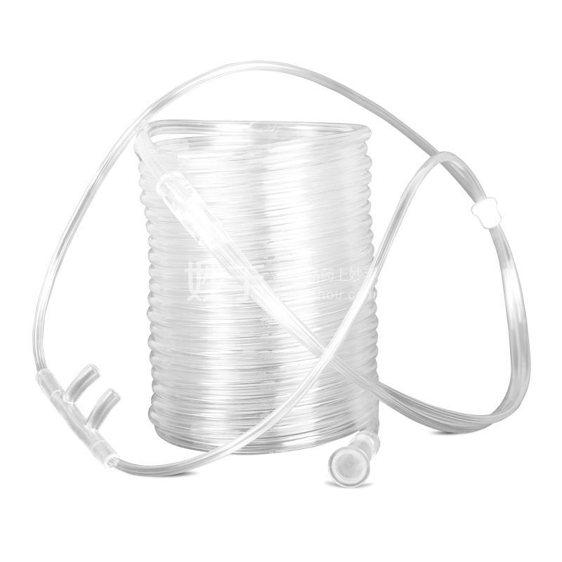 可孚 一次性使用鼻氧管 头套式双鼻塞 5M