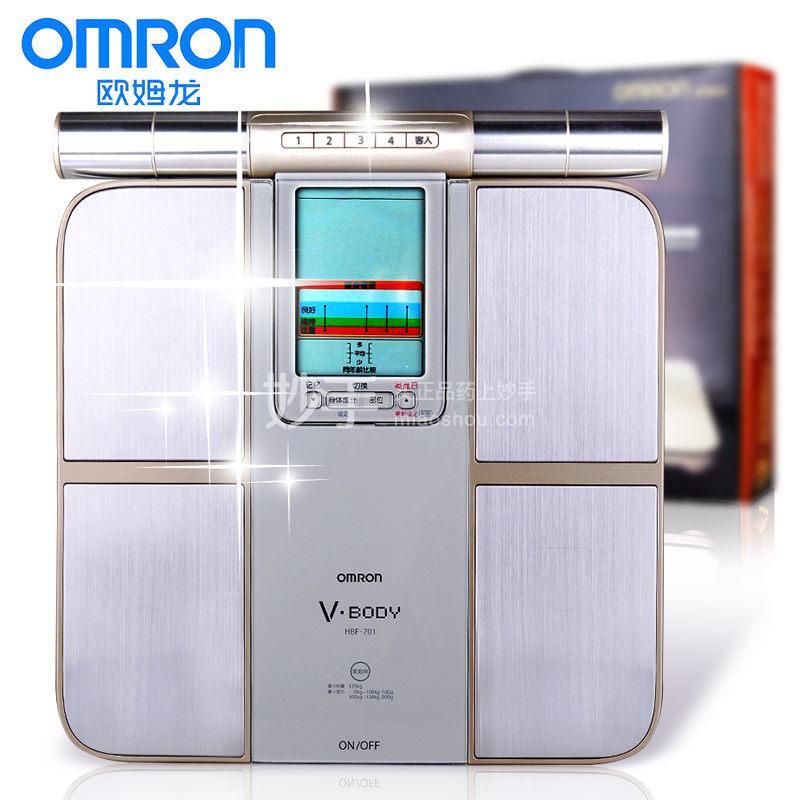 【欧姆龙】体重身体脂肪测量器   HBF-701