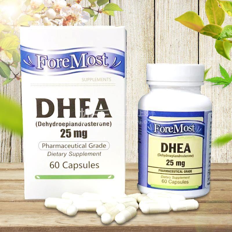 DHEA山药胶囊 25mg*60粒