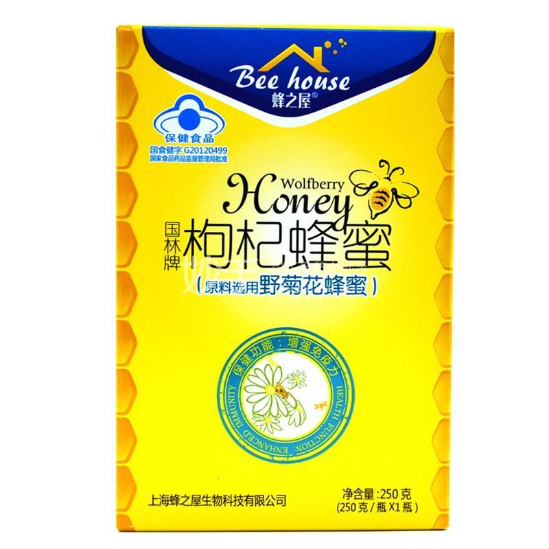 蜂之屋 国林牌枸杞蜂蜜(野菊花) 250g