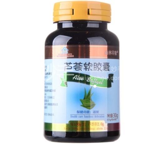 森林印象 芦荟软胶囊 30g(0.5g*60粒)
