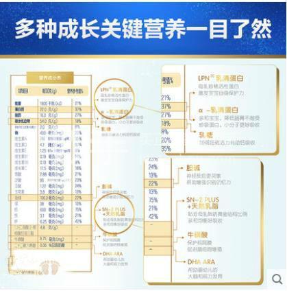 BIOSTIME/合生元 派星学龄前儿童配方奶粉(3-7岁,4段) 900克